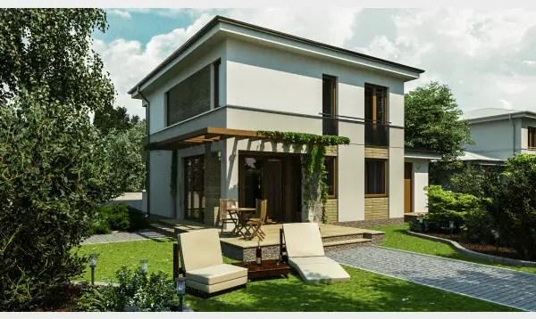 Proiecte de case pentru familii cu doi copii