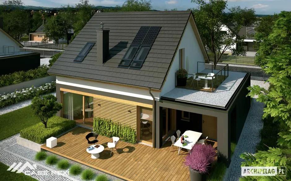 Proiecte de case cu terasa la mansarda case practice for Case cu terase
