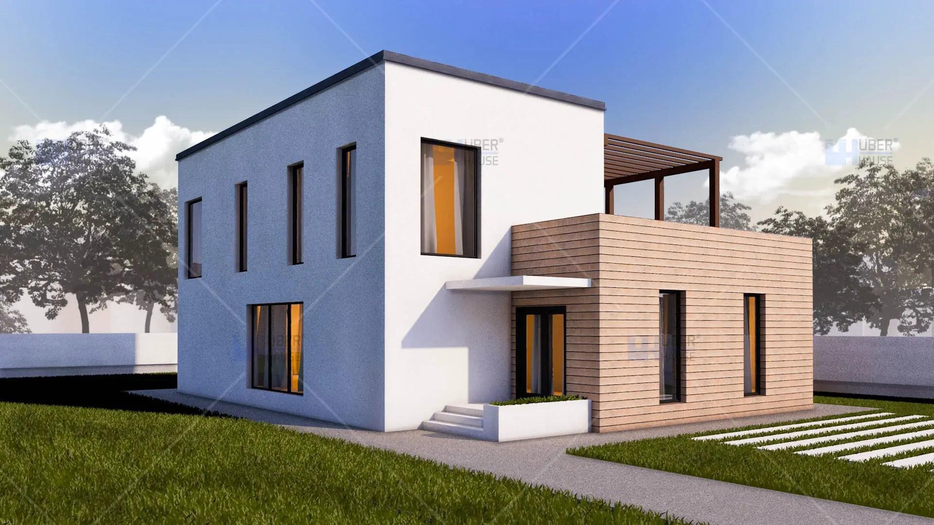 Proiecte de case cu etaj si 2 dormitoare case practice for Proiecte case cu mansarda 2017