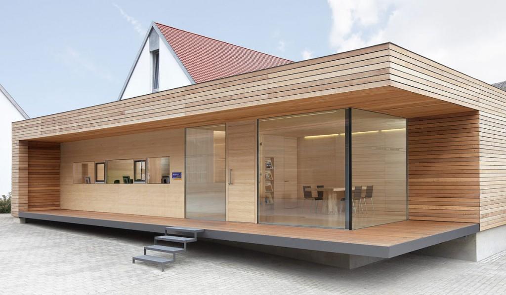 Una casa prefabbricata in svizzera  caseprefabbricateinlegnoit