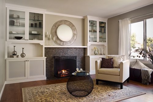 Painted Brick Fireplaces Painting Brick Fireplaces Brick Fireplace Remodeling Ideas | Case Design/remodeling Of San
