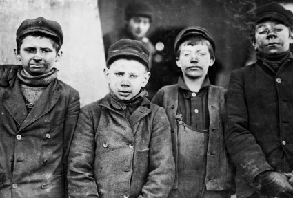 Young Mine Helpers