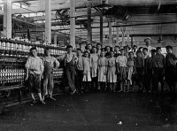 Mill supt. & young workers, Yazoo City Miss., May 1911 Artist - Printer - Publisher - Copyright claim - Medium - Photo. by Lewis W. Hine Date - Source