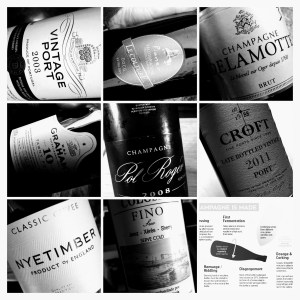 WSET L3 Wines Bottle Shots