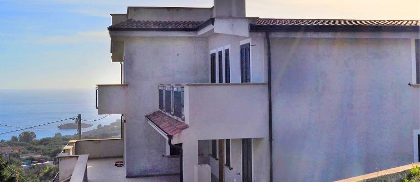 Appartamenti visti dall'esterno