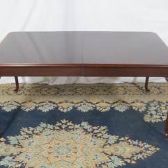 Thomasville Sofa Table With Stools Sofas Baratos Madrid Tiendas Dining Room Set Mahogany Chippendale