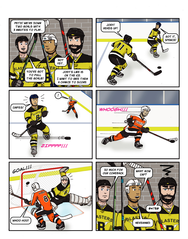 catb 182: Pull The Goalie!