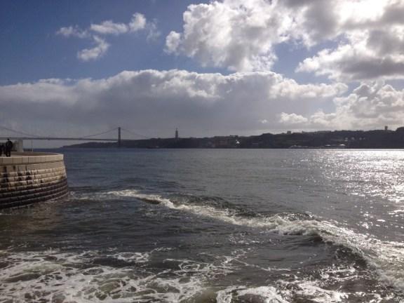 Tagus River from the Torre de Belém