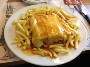 Francesinha, my favorite sandwich ever