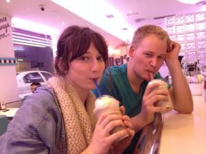 Milkshakes at Tommy Mel's