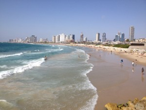 Tel Aviv and the beach
