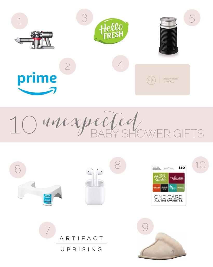10 Unexpected Baby Shower Gifts | Cassandra Shiree Photography | Motherhood Blog