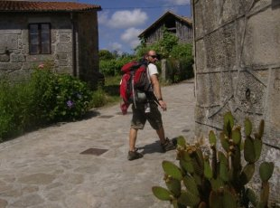 Walking el Camino de Santiago, a pilgrimage across Spain..