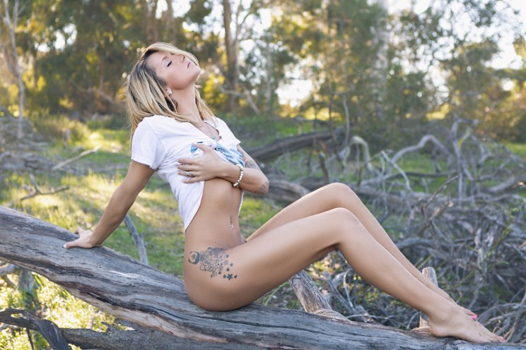 Fashion Shoot in the Woods with Casey Lorz Photo| Encinitas