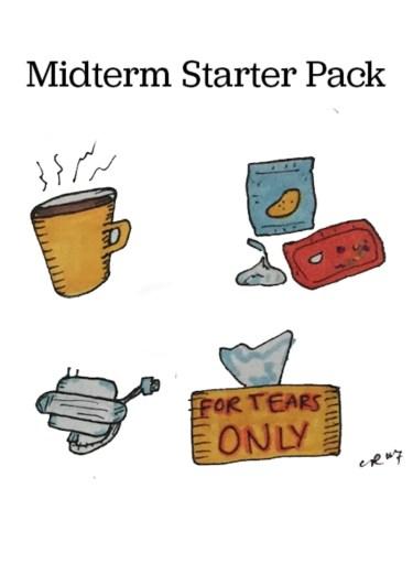 midterns starter pack