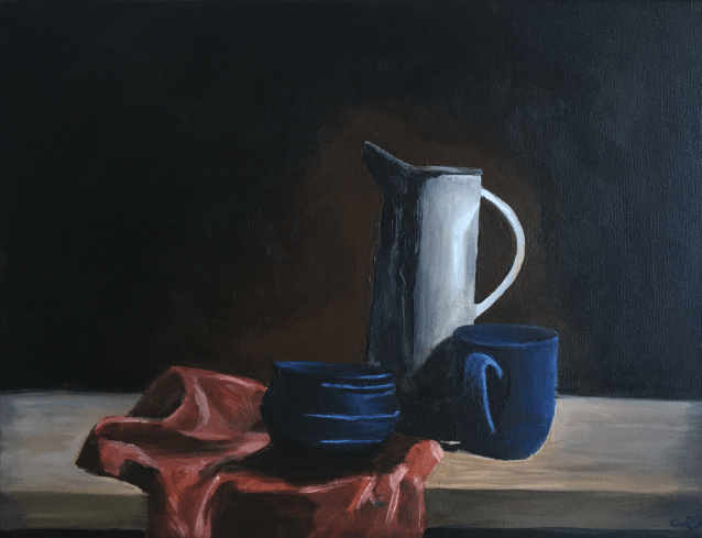 jug and mugs