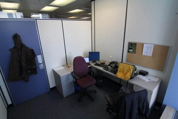 My office at work, where all the magic happens