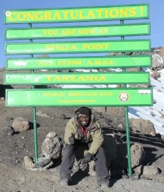The Tanzania Chronicles — Day 6 — Summit — Holson, Casey and Julius