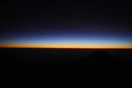 The Tanzania Chronicles — Day 6 — Summit — Sunrise