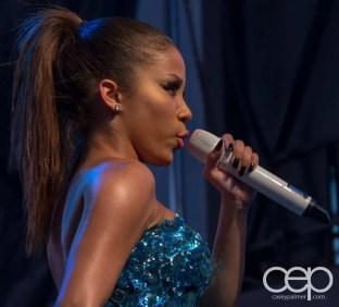 A shot of Keyshia Chanté struttin' the stage at Toronto Pride 2012!
