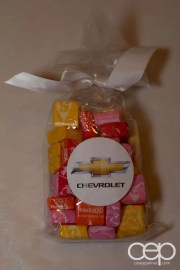 The package of Starbust I received as a take-home from the 2014 Corvette Stingray Canada Reveal