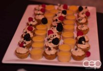 Chef Selection of mini tarts, squares, cookies and biscotti