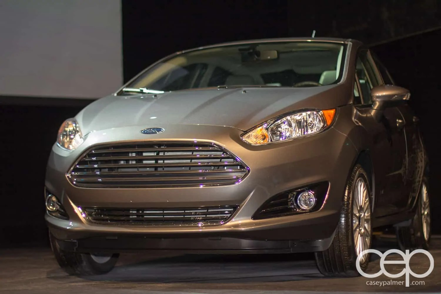 The 2014 Ford Fiesta, unveiled