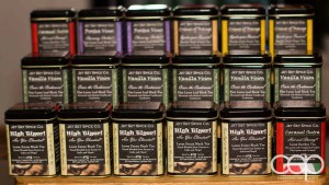 Teas supplied by the Jet Set Spice Co. at the Memphis Fire Barbecue Company in Winona, ON including Vanilla Vision, Caramel Sutra, Frostea Vines and Crimes of Orange
