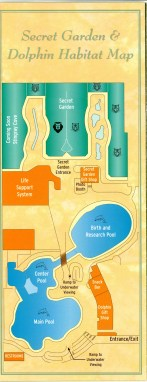 Siegfried & Roy's Secret Garden and Dolphin Habitat — Map