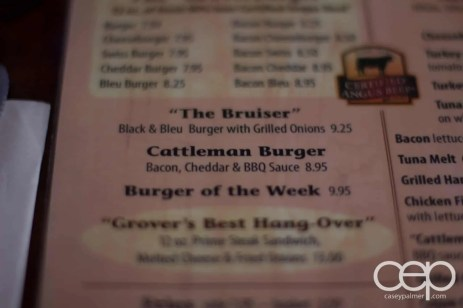 America — The Cattleman Burger