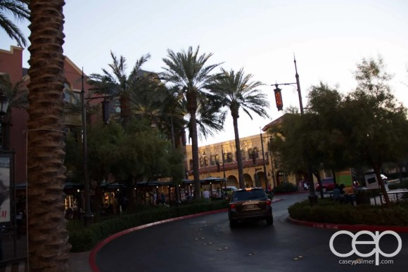 Scenery at the Town Square Las Vegas