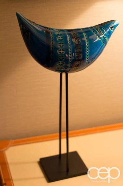 A bizarre sculpture in our bedroom at The Cosmopolitan Casino Hotel