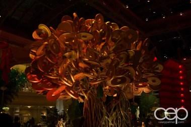 Las Vegas — The Bellagio Hotel & Casino — Chinese New Year Money Tree