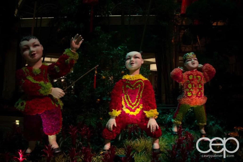 Las Vegas — The Bellagio Hotel & Casino — Chinese New Year Decorations