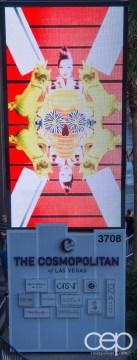 Las Vegas — The Cosmopolitan of Las Vegas Casino & Hotel — Main Sign