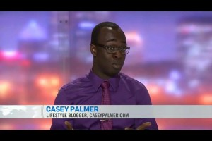 A screen capture of Casey Palmer on CTV News' Tech Tuesday as captured by Margo MacFarlane.