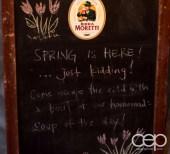 G... for Gelato and Espresso Bar — Signboard