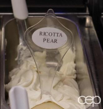 G... for Gelato and Espresso Bar — Ricotta Pear Flavour