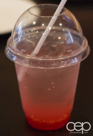 G... for Gelato and Espresso Bar — Strawberry Lemonade Italian Soda