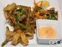 The cajun calamari at The Martini House in Burlington, ON