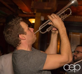After Work Drinks Toronto 8 — #AWDTO — Craig Johnston on Trumpet