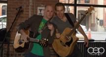 After Work Drinks Toronto 8 — #AWDTO — Matt Morgan and Craig Johnston of the Emerson Street Rhythm Band