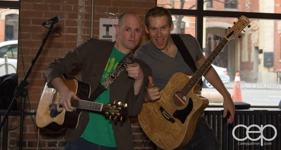 After Work Drinks Toronto 8 — #AWDTO — Matt Morgan and Craig Johnston of the Emerson Street Rhythm Band