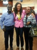 From L-R: me, Tracy Moore and my Mom at CityLine on April 1, 2013