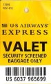 BiSC and Las Vegas 2013 — US Airways Baggage Tag
