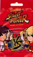 BiSC and Las Vegas 2013 — Cosmopolitan — Kid Robot — Street Fighter Enamel Keychain — Packaging Front