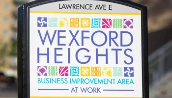 Scarborough Dishcrawl II — Wexford Heights BIA Sign