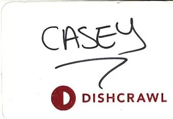Scarborough Dishcrawl II — Nametag