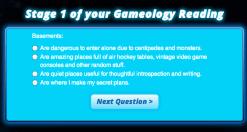 Mattel Game On! Gameology — Gameology Quiz — Stage 1