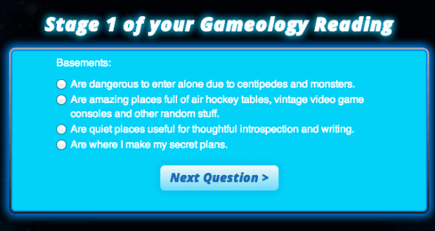 Mattel Game On! Gameology — Gameology Quiz — Stage 1